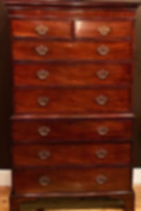 19th Century English Chest on Chest