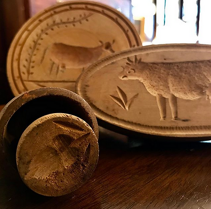 19th Century Butter Molds Silver Creek.p