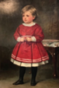 19th C Portrait of Child Silver Creek An