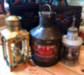 Antique Ship Lanterns