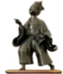 Antique Bronze Japanese Sculpture