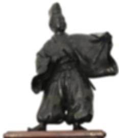 Antique Japanese Bronze Sculpture