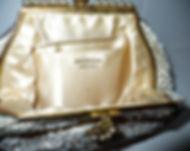 French Handmade Vintage Evening bag