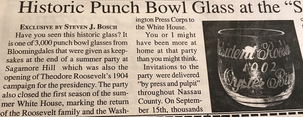 Article describing the Punch Cup