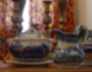 English Blue and White Porcelain
