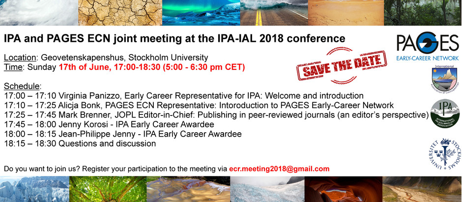 IPA and PAGES ECN Get Together