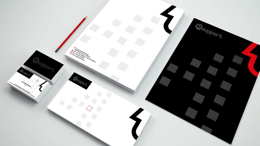 Branding-Stationery 1support