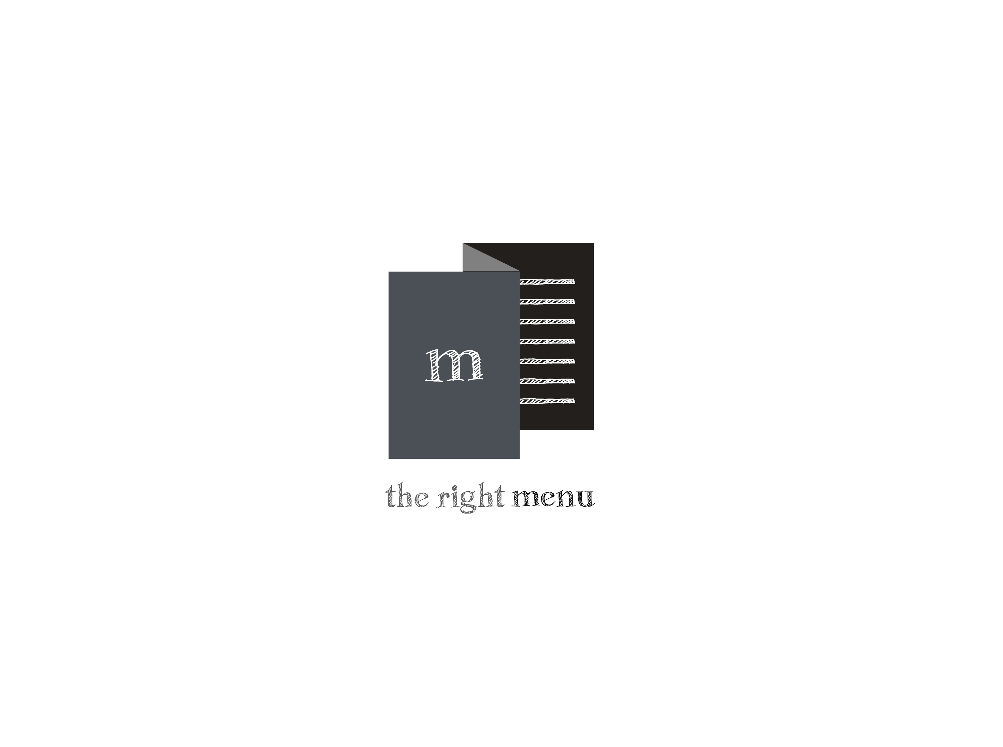 The right menu logo