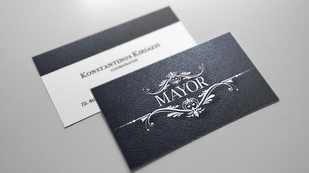 Mayor card