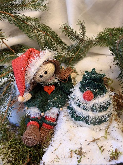 Haakpakket Funny Noel met gratis haakboek 'Eindeloos haken'
