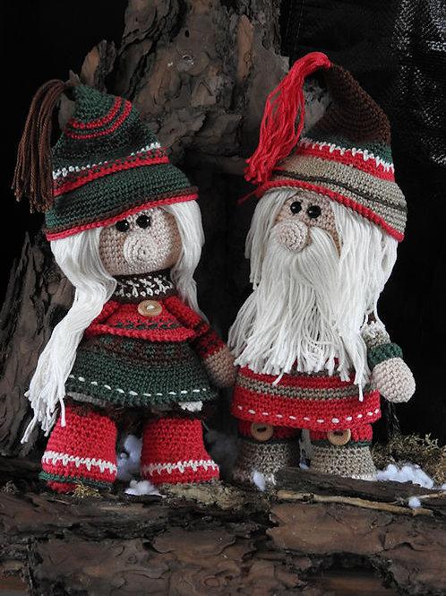 Haakpakket  Funny Christmas met het boek 'Eindeloos haken'