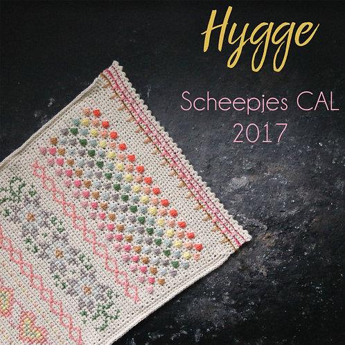Haakpakket Sjaal/omslagdoek Hygge Pastel