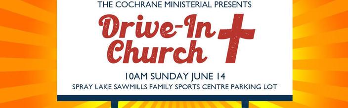 Drive-in Church Service June 2020