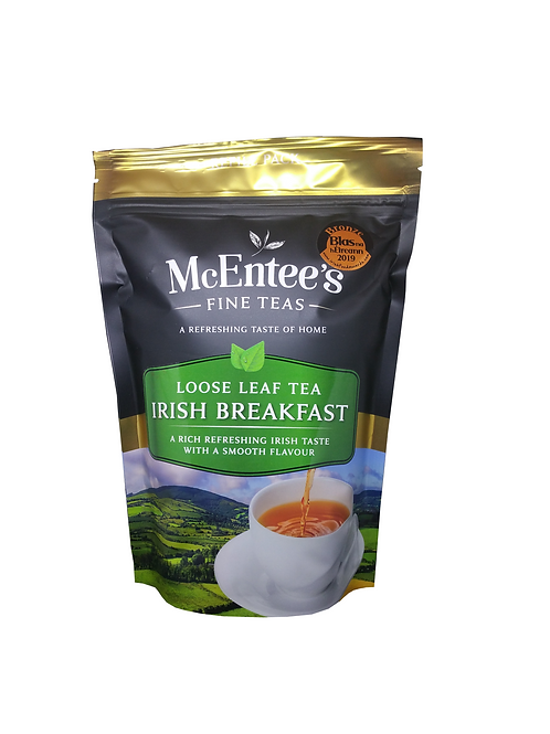 McEntees Irish Breakfast Tea - 250g Bag