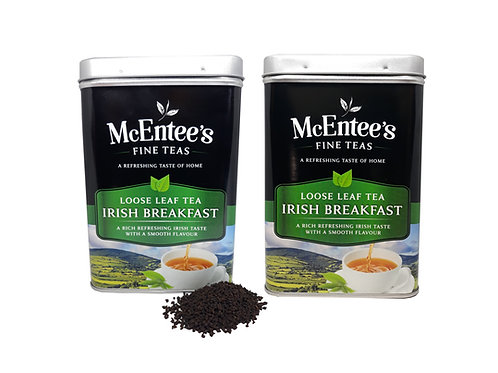 McEntees Irish Breakfast Tea - Twin Pack (2x500g Tin)