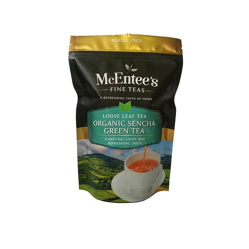 McEntees Organic Sencha Green Tea - 150g Bag