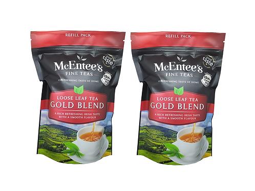 McEntees Irish Gold Blend Tea - Twin Pack (2x250g bag)