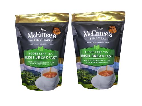 McEntees Irish Breakfast Tea - Twin Pack (2x250g Bag)
