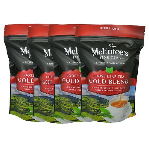 McEntees Irish Gold Blend Tea - 4 Pack (4x250g Bags)