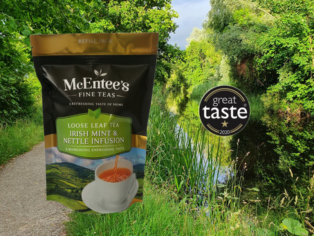 McEntee's Tea Celebrates winning another Gold Star Award this year!