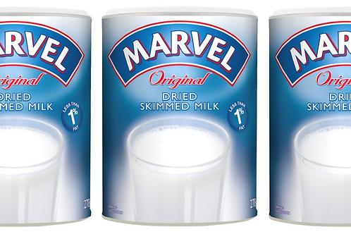 Marvel Original Dried Skimmed Milk Powder 175g (Pack of 3)