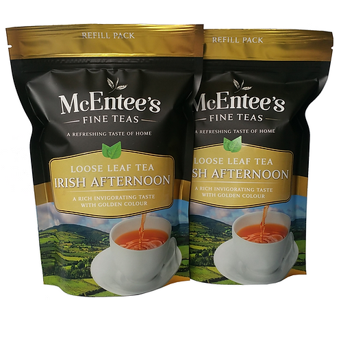 McEntees Irish Afternoon Tea - Twin Pack (2x250g Bag)