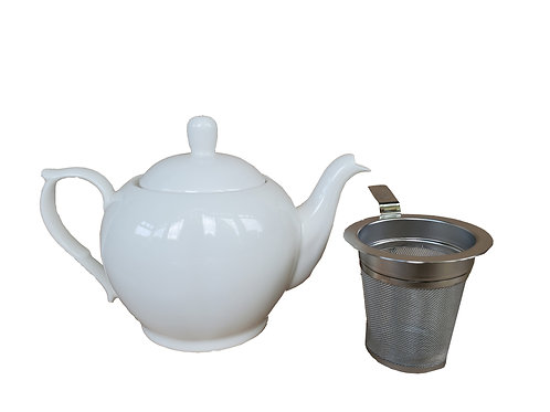 Teapot with Stainless Steel removable Filter
