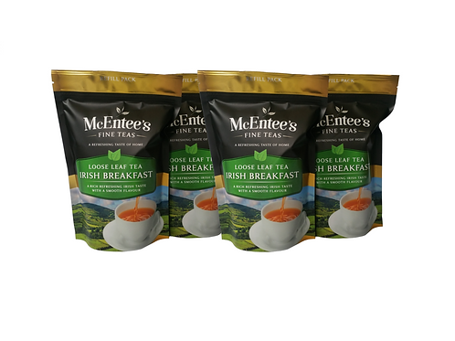 McEntees Irish Breakfast Tea - 4 Pack (4x250g Bags)