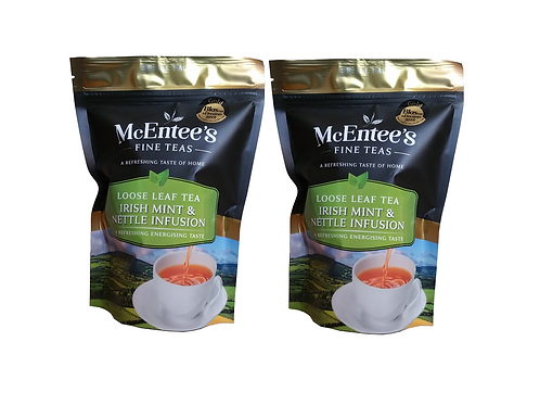 McEntees Irish Mint & Nettle Infusion - Twin Pack (2x150g Bag)