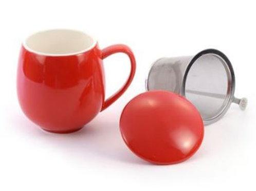 McEntee's Tea Mug with Strainer and Lid