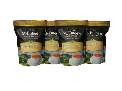 McEntees Irish Afternoon Tea - 4 Pack (4x250g Bag)