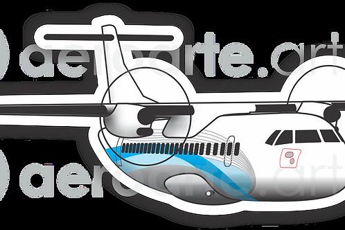 Adesivo Silhueta ATR 72
