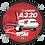 Thumbnail: Adesivo Bolacha Airbus A320 CFM TAM
