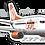 Thumbnail: Adesivo Silhueta Boeing 737-800 GOL 2ª Pintura