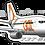 Thumbnail: Adesivo Silhueta Boeing 737-800 GOL 3ª Pintura