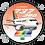 Thumbnail: Adesivo Bolacha Boeing 737-300 Transbrasil 1ª Pintura