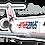 Thumbnail: Adesivo Silhueta Bombardier CRJ-200 Amaszonas Paraguay