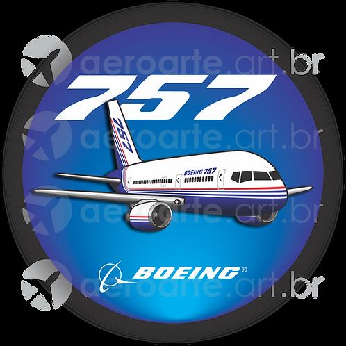 Adesivo Bolacha Boeing 757
