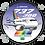 Thumbnail: Adesivo Bolacha Boeing 737-300 Transbrasil 3ª Pintura