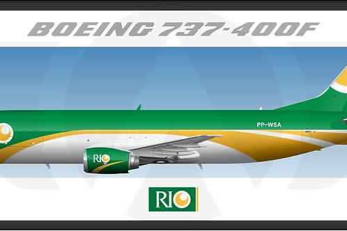 Adesivo Perfil Boeing 737-400F RIO
