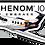 Thumbnail: Adesivo Silhueta Embraer Phenom 100