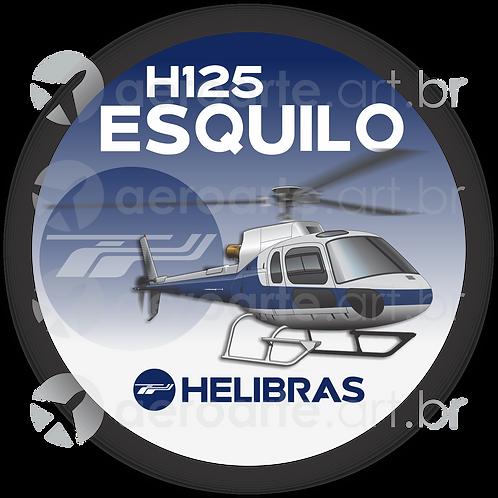 Adesivo Bolacha H125 ESQUILO