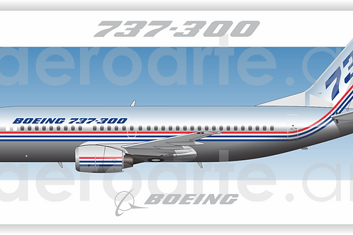 Adesivo Perfil Boeing 737-300