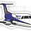 Thumbnail: Adesivo Silhueta Embraer EMB-120 Brasília