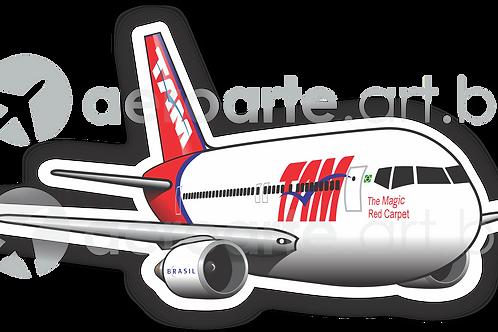 Adesivo Silhueta Boeing 767-300 TAM