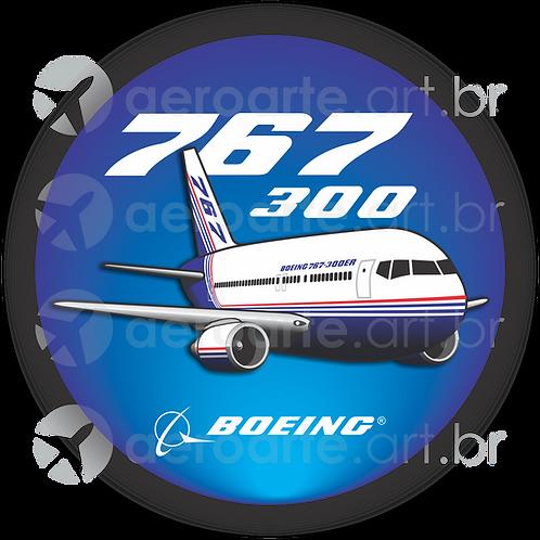 Adesivo Bolacha Boeing 767-300