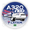 Thumbnail: Adesivo Bolacha Airbus A320 NEO LATAM