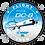 Thumbnail: Adesivo Bolacha Douglas DC-8F VASP