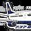 Thumbnail: Adesivo Silhueta Boeing 737-800 VARIG