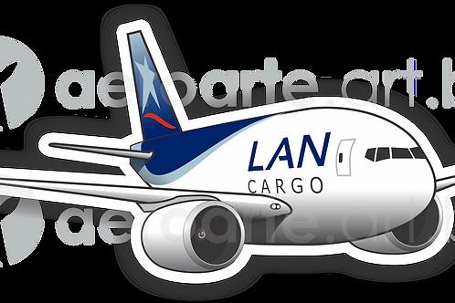 Adesivo Silhueta Boeing 777F LAN Cargo